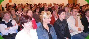 Interessierte Zuhörer